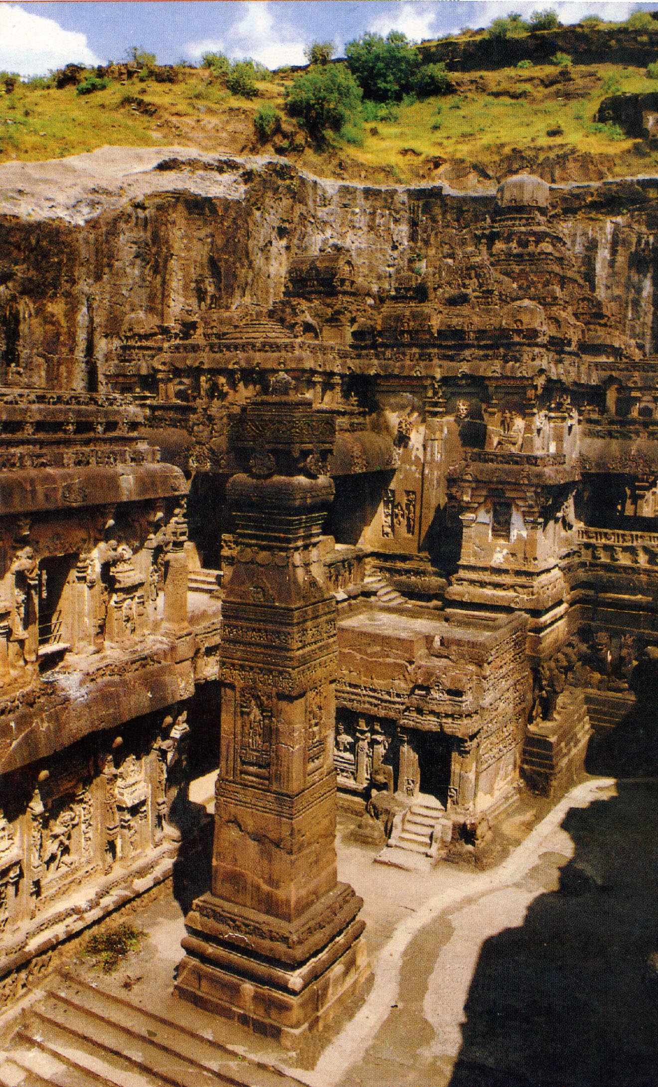 Effects of pollution on ajanta and ellora caves